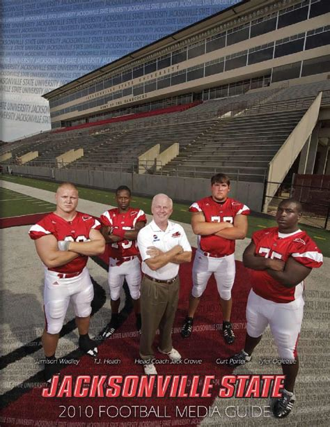 ISSUU   2010 Jacksonville State Football Media Guide by ...