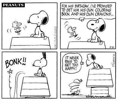 It s Charles Schultz birthday! Thank you for Snoopy...we ...