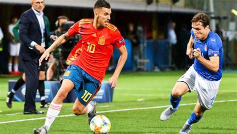 Italia   España: el Europeo sub 21 de fútbol, en directo hoy
