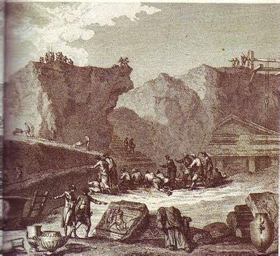 Italia: Las excavaciones de Pompeya
