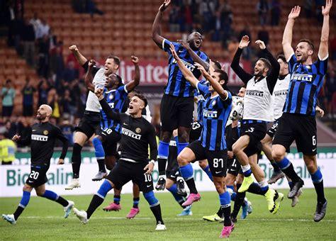 Italie: derby et première place pour l Inter Milan