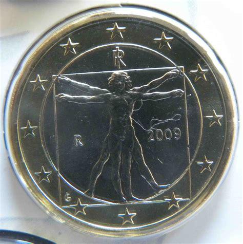 Italien 1 Euro Münze 2009   euro muenzen.tv   Der Online ...