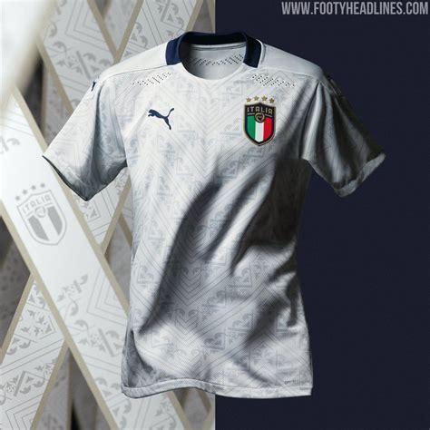 Italy Euro 2020 Away Kit Revealed   Footy Headlines