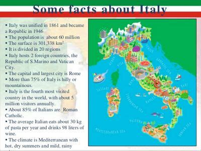 Italy Facts for Kids Facts about Italy and Italians ...