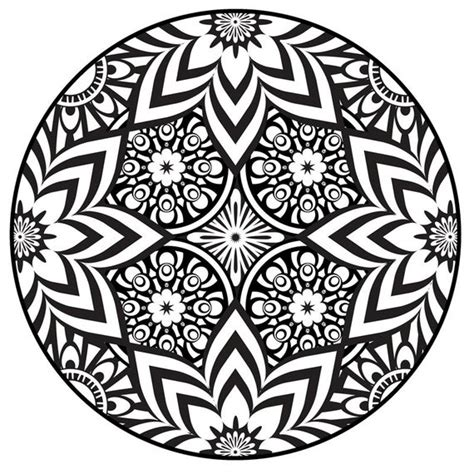 Items similar to Mandala Coloring Page, Instant PDF ...