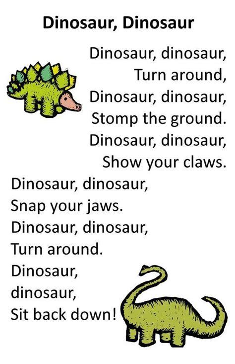Itty Bitty Dino Dig Rhyme: Dinosaur, Dinosaur | Dinosaurs ...