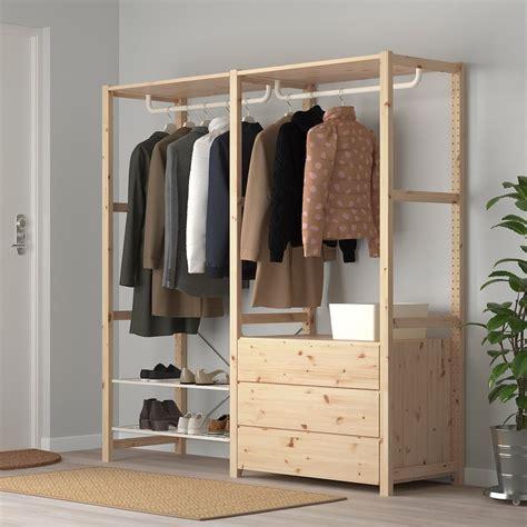 IVAR Estantería baldas riel cómoda   IKEA | Muebles para ...