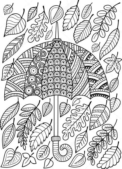 J ai aimer la pluie d automne. Livre de coloriage pour ...