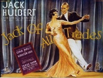 Jack of All Trades 1936 DVD   Jack Hulbert / Gina Malo