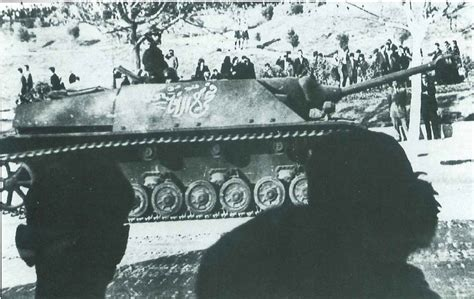 Jagdpanzer IV in service with the Syrian Army during the ...