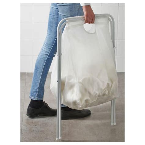 JÄLL Bolsa de ropa c/soporte   blanco   IKEA