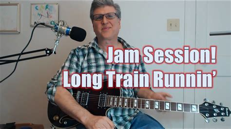 Jam Session   Long Train Runnin   Guitar Lesson with TAB ...