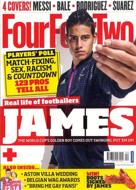 James Rodríguez es portada de la revista FourFourTwo   AS ...