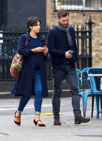 Jamie Dornan e Amelia Warner