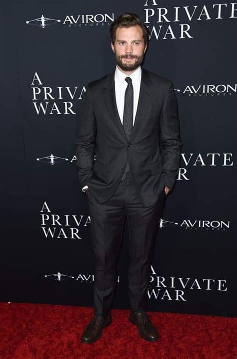 Jamie Dornan Premiere of A Private War | Cincuenta sombras ...