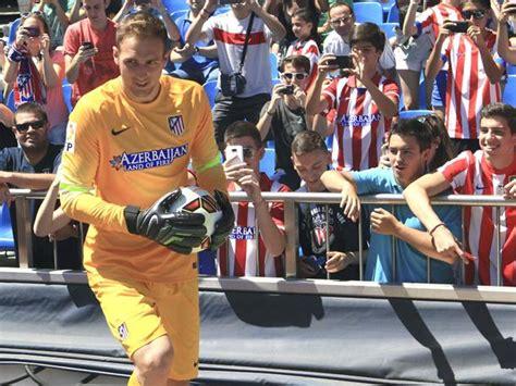 Jan Oblak feliz tras su llegada al Atlético de Madrid ...