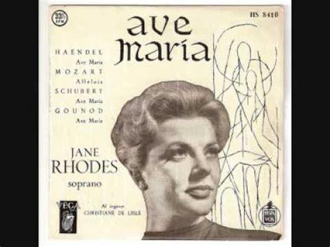 Jane Rhodes   Ave Maria   Franz Schubert   YouTube