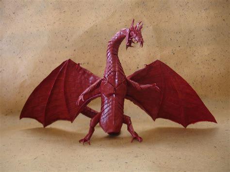 Japanese Origami Dragon  Japan  | Origami ancient dragon ...