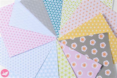 Japanese Origami Paper Printable Pack   Paper Kawaii Shop