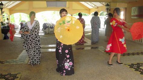 Japanese Parasol Dance   YouTube