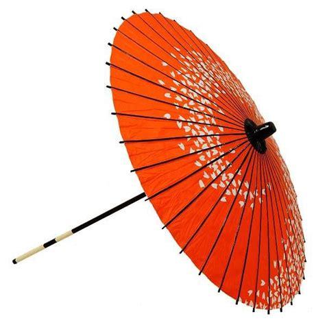 Japanese Parasol Lacquer Sakura Cherryblossom Red   Fine ...