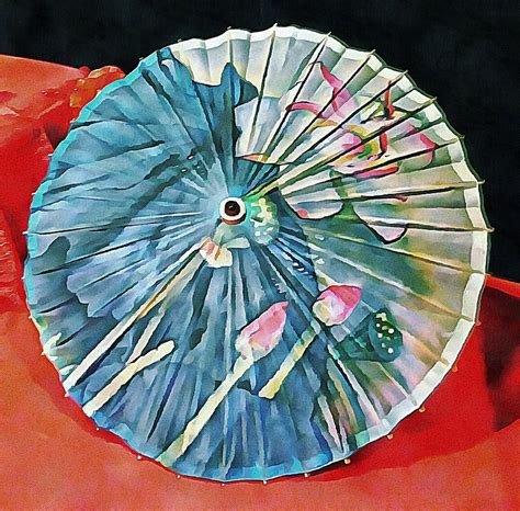 Japanese Parasol Study 1 Photograph by Dorothy Berry Lound