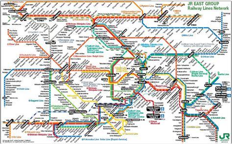 Japão ao seu alcance: Malha ferroviária na Grande Tokyo