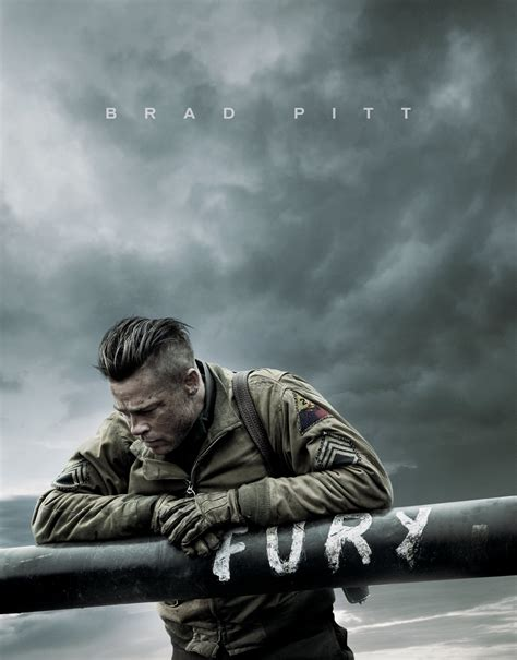 Jaquette/Covers Fury  Fury  par David AYER 2014