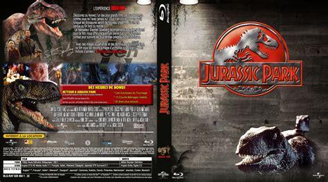 Jaquette DVD de Jurassic park 1  BLU RAY  custom v2 ...
