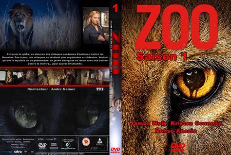 Jaquette DVD de Zoo saison 1 custom   Cinéma Passion