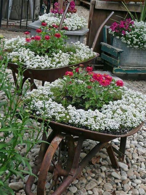 Jardines con flores: 50 fotos de ideas para decorar ...