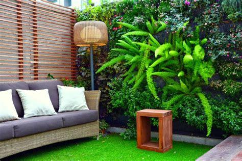 Jardines hermosos en espacios pequeños   Lamparas Buenos Aires