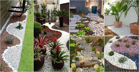 Jardines Pequeños Para Frentes De Casas Con Piedras ...