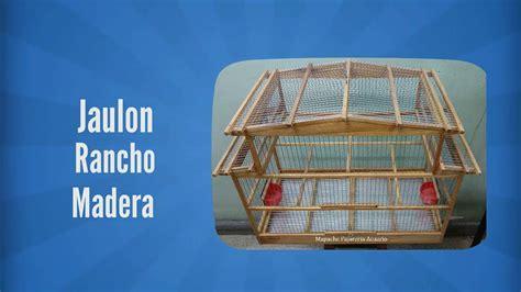 Jaulas de Madera para Aves Pájaros en Mapache Argentina ...