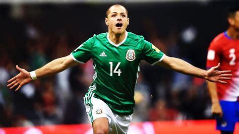 JAVIER HERNANDEZ   All Mexico Goals!   YouTube