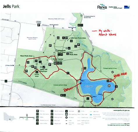 Jells Park Walk for Heart Health   Melbourne
