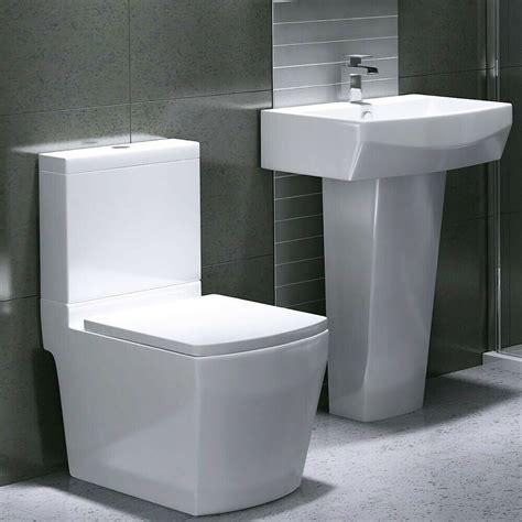 Jensen Edwards Contemporary Designer Ceramic Square toilet ...