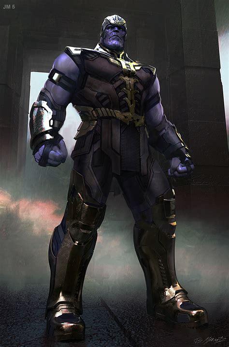 Jerad Marantz   Avengers Infinity War: Thanos conceptart