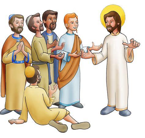 Jesús y los discípulos   Dibujos y Cosas para Catequesis ...