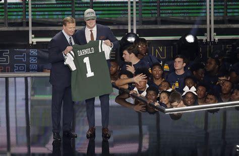 Jets strike gold by lucking into USC quarterback Sam ...
