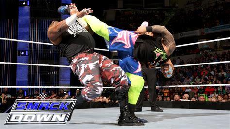 Jimmy Uso vs. D Von Dudley: SmackDown, February 25, 2016 ...