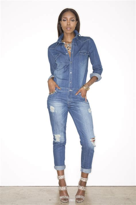 Jixer Denim Jumpsuit   If I was a super hero my outfit of ...