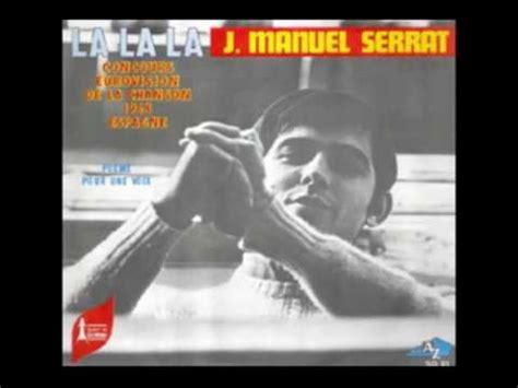 Joan Manuel Serrat   Poema de Amor  Francés    YouTube