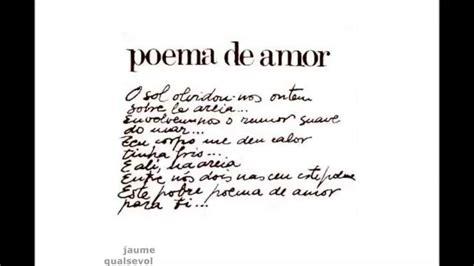 Joan Manuel Serrat   Poema de amor  portugués    YouTube