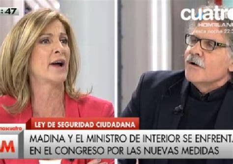 Joan Tardá llama fascistona a Carmen Tomás