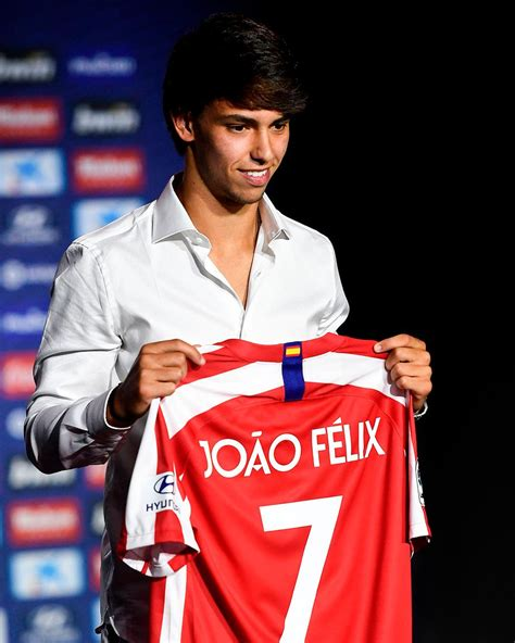 Joao Felix is unveiled as Atletico Madrid's new no. 7 ...