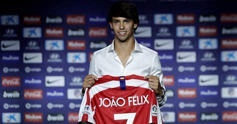 João Félix presented as an Atlético Madrid player   Fussboll