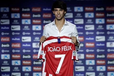 João Félix presented as an Atlético Madrid player   Into ...