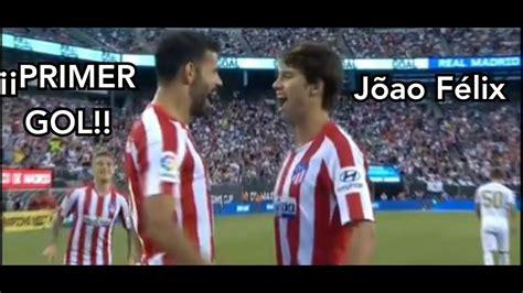 João Félix... ¡¡PRIMER GOL con el Atlético de Madrid ...