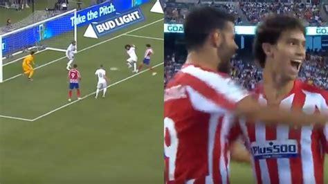 Joao Félix se estrenó como goleador con el 0 2 al Madrid ...